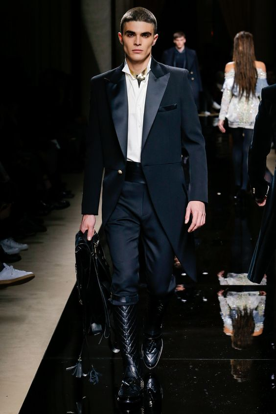 My 12 Faves From The Balmain Fall 2016 Menswear Prensentation