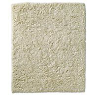 Luxe High-Pile Shag Rug - Ivory