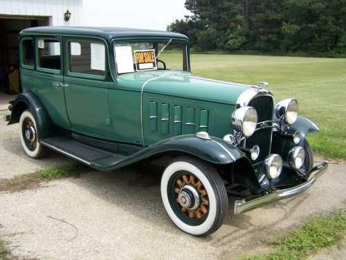 1932 oldsmobile f43 4 door sedan vintage cars trucks