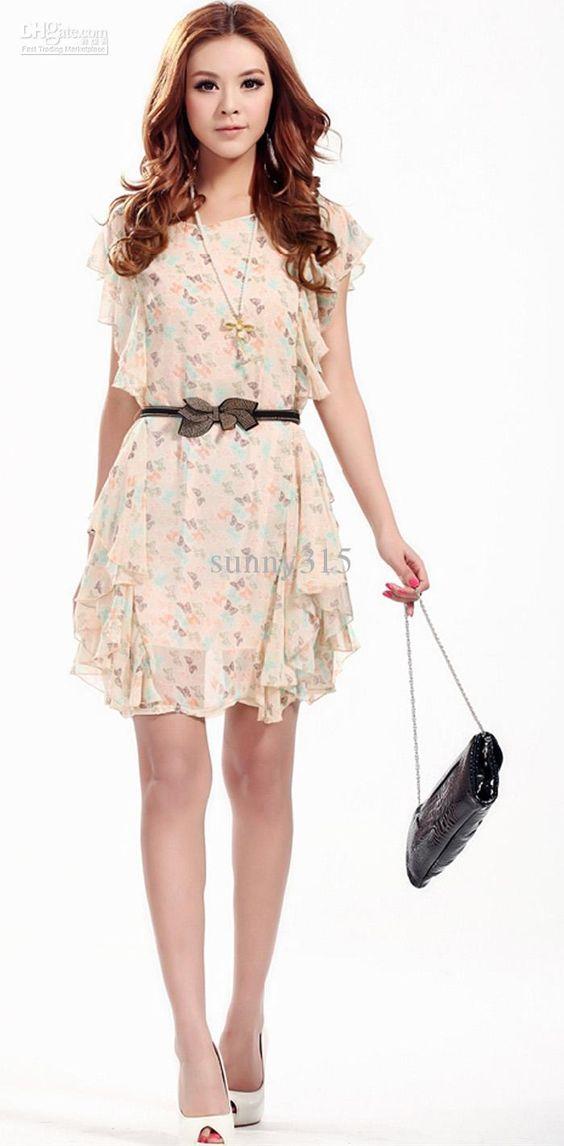 Short summer dresses- Summer dresses and Search on Pinterest