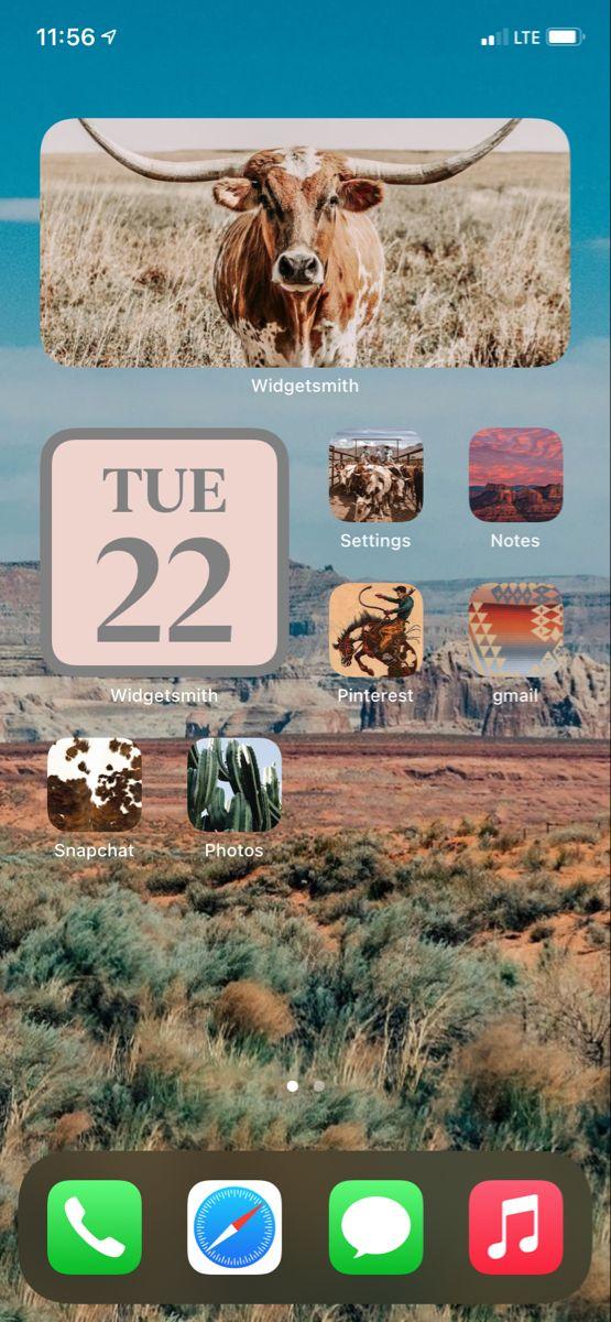 Ios 14 Pale Pink Homescreen Inspo Iphone Background Wallpaper Aesthetic Iphone Wallpaper Cute Emoji Wallpaper
