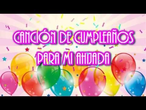 Canción De Cumpleaños A Mi Ahijada Youtube Frases De Feliz Cumple Tarjetas De Feliz Cumpleaños Feliz Cumpleaños Papá De Hija