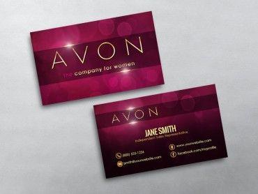 Avon Business Cards Free Shipping Avon Business Free Business Cards Avon