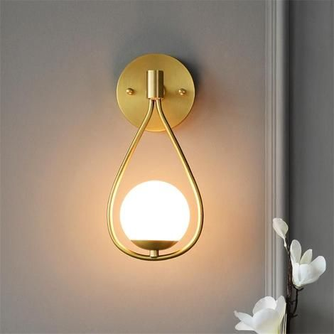 Frankie Droplet Wall Lamp Wall Lamp Glass Wall Lights Wall Mounted Lamps