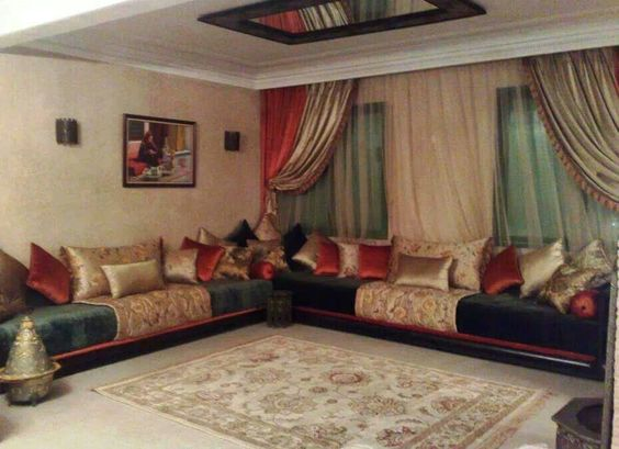 Salon marocain and salons on pinterest for Al arabi decoration