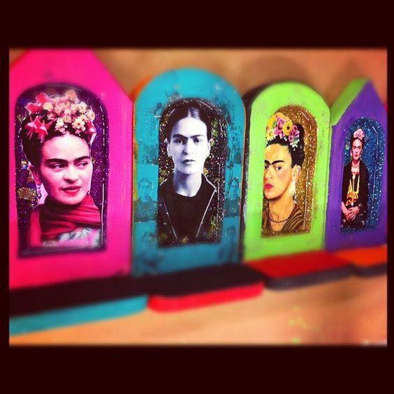 Crafty Chica's Frida shrines