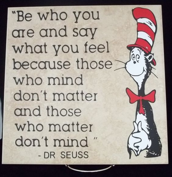 Dr Seuss = Genius