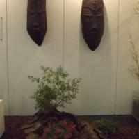 Máscaras de Cerâmica, Vidro e Papel por Marcelo Minka