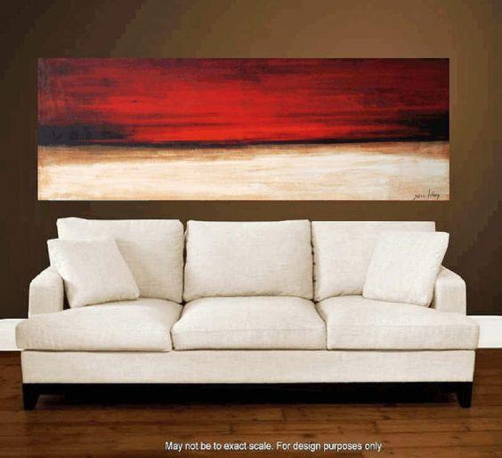 Malerei Malerei Wandkunst abstrakte Kunst Acryl von jolinaanthony