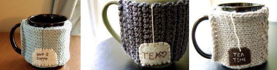 crochet mug warmers