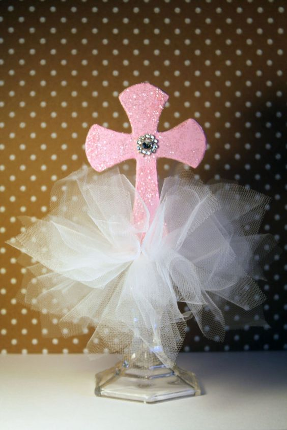 Baptism/Christening/First Holy Communion by CurlyGalDesigns