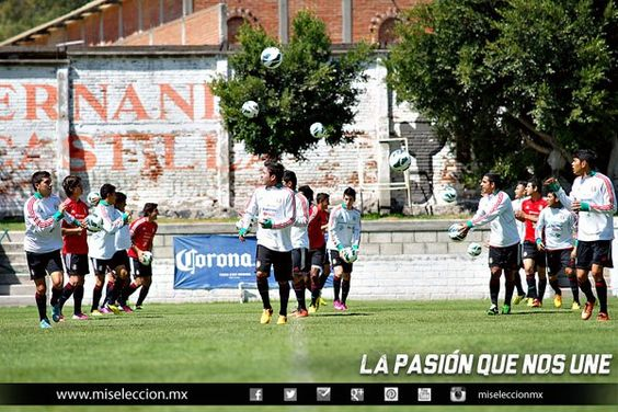Entrenamiento de la Sub20 Parque España #seleccionmexicana #mexico #futbol #soccer #sports