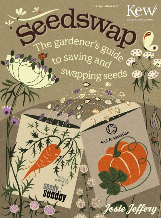 Seed Swap: The Gardener's Guide to Saving and Swapping Seeds by Josie Jeffery (avail. from Amazon here: http://www.amazon.co.uk/Seedswap-Gardeners-Guide-Saving-Swapping/dp/1908005564)