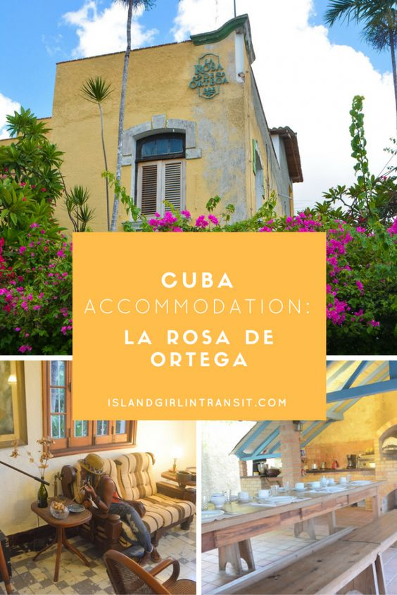 Cuba Accommodation: La Rosa de Ortega