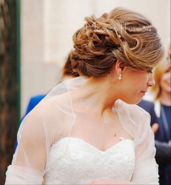 Découvrez les 40 plus belles coiffures de mariée avec cheveux relevés 2017 Image 3