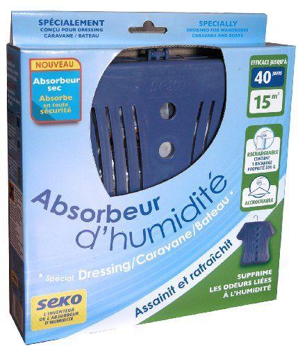Seko Dressing 2 Absorbeurs + 1 Recharge de 300 g Sec Absence de rejet d'eau: Condt. : BG , Désignation : Absorbeur , Surface traitée (m²) :…