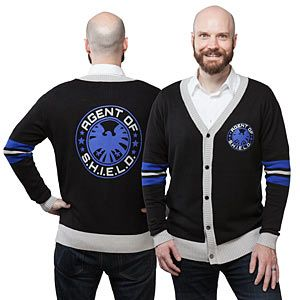S.H.I.E.L.D Unisex Cardigan - Exclusive | ThinkGeek