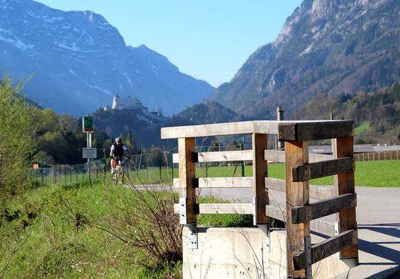 Tauernradweg: Radeln, schauen und genießen durch die Gemeinden Golling, Kuchl, Bad Vigaun, Hallein, Oberalm und Puch