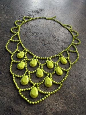 ***: Neon Necklace, Fabulous Accessories, Beaded Inspirations, Statement Necklaces, Favorite Colors, Jewelry Inspiration, Accessories Ooooooooooh, Awesome Accessories, Statement Jewellery