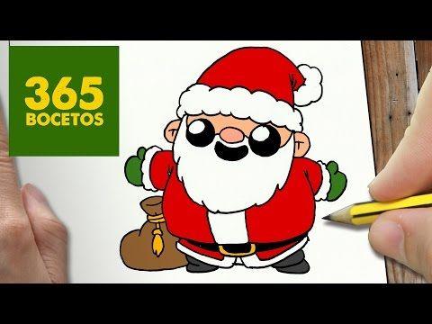 Dibujos Para Dibujar De Navidad Fácil Youtube Easy Christmas Drawings Kawaii Doodles Christmas Drawing