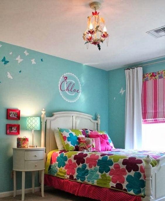 Colores para dormitorios juveniles mujer buscar con for Dormitorio vintage moderno