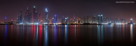 fairy lights by verticaldubai