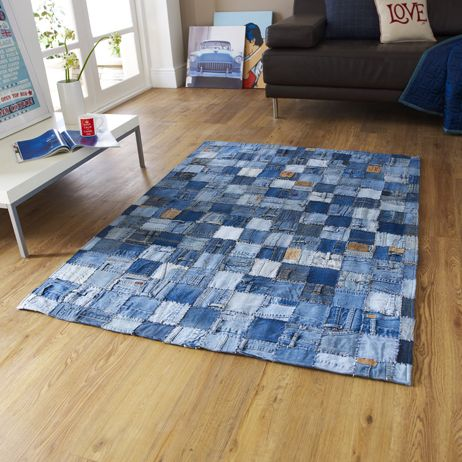 denim rug - pic only - no tutorial
