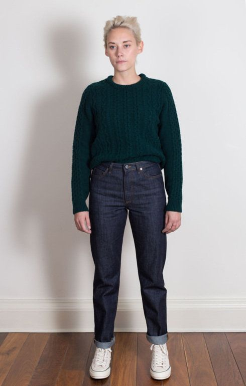Ika Denim Rinsed | Denim, Norse projects, Normcore