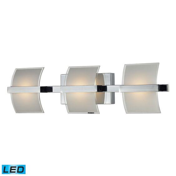ELK Lighting 81032/3 Epsom Collection Chrome Finish