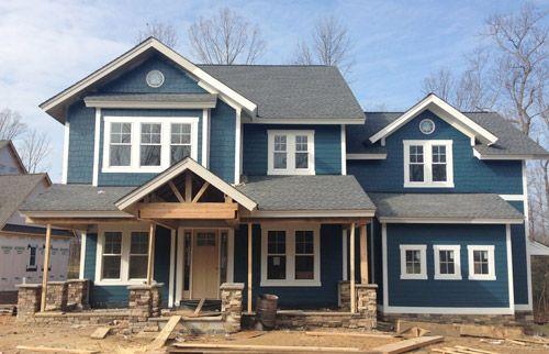 Picking an exterior paint color exterior colors paint colors and for the for Benjamin moore green exterior paint colors