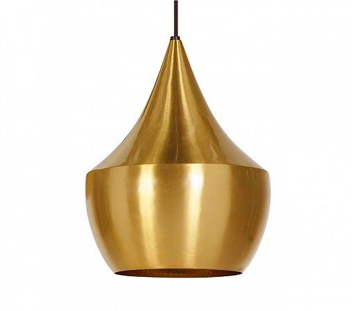 Дизайнерский подвесной светильник Beat Light Fat gold