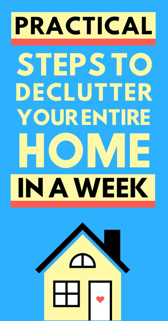 This genius step-by-step guide is a must-read for everybody who embraces minimaist lifestyle. Practice these hacks to declutter your entire home in just a week. Embrace more free space and embrace more peace in life.. #clutter #declutter #simple #simplicity #minimalist #minimalism #home