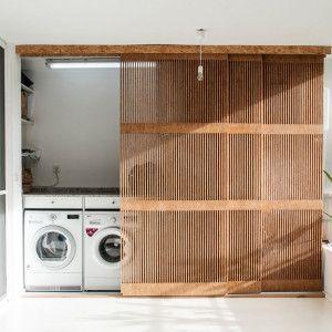 ドア お風呂 洗面 ランドリー おしゃれ 扉 通気 木製 イメージ