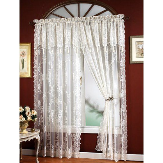 Home Lace Curtain Panels