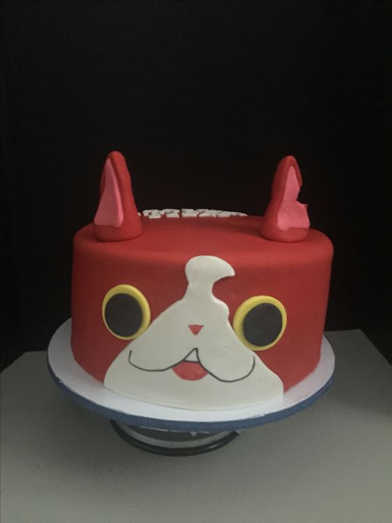 Yokai watch cake anniversaire valentin pinterest for Chambre yo kai watch