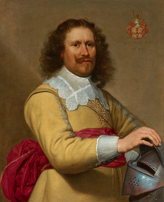 van Oost Jacob - Portrait of Salomon van Meldeghem. Brugge 1603 - 1671 Brugge: