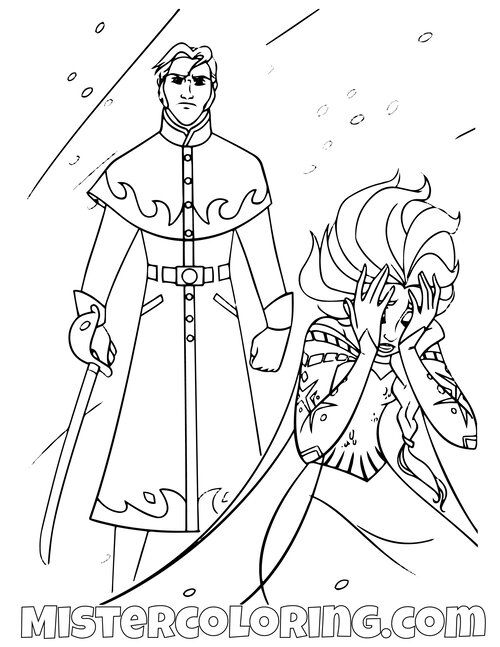 Frozen 2 Coloring Pages For Kids Mister Coloring Cartoon Coloring Pages Cool Coloring Pages Princess Coloring Pages
