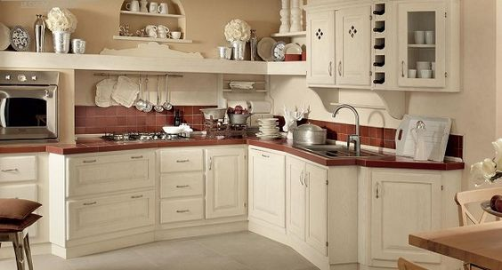 17 Best images about cucina on Pinterest | Shelves, Shabby and ...