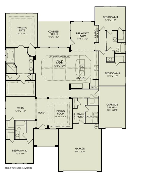 NORTHGATE 372 Drees Homes Interactive Floor Plans Custom