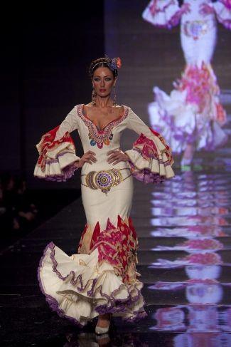 Traje de Flamenca - Aurora-Gavino - Simof-2010