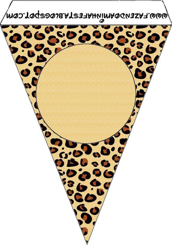 Imprimibles piel de leopardo 2. | Ideas y material gratis para fiestas y celebraciones Oh My Fiesta!