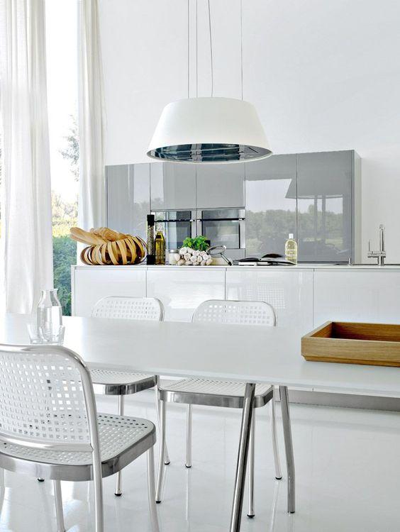 lámparas #cocinas #diseño de cocinas diferentes #línea3 cocinas