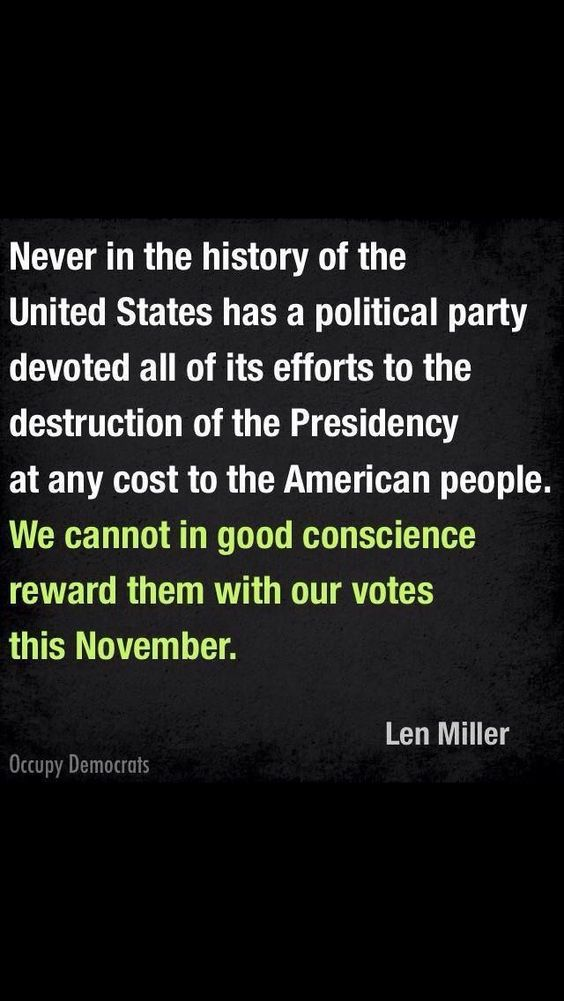 #VoteBlue - No more of the do-nothing Republicans!