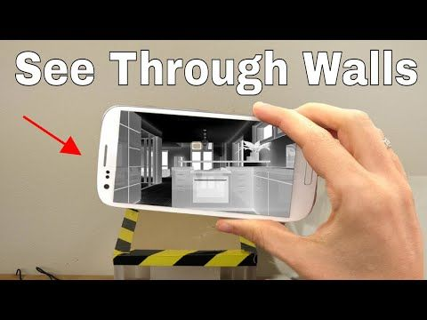 How To Use Your Smartphone To See Through Walls Superman S X Ray Vision Challenge Youtube Mobile Tricks Iphone Features Cool Tech Gadgets