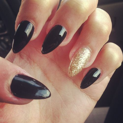 hipster pointy nails - photo #14