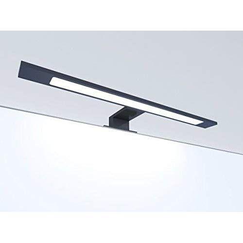Led Badleuchte Schwarz 450mm Spiegellampe Spiegelleuchte