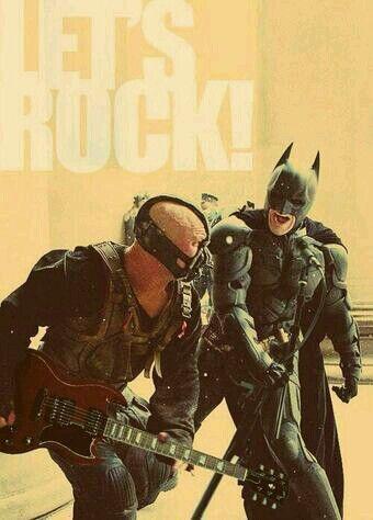 Let's rock batmam