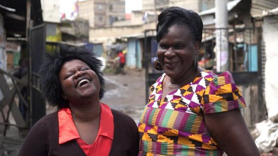 Thanks to the support of initiatives like the Global Fund, mother-daughter duo Patricia (right) and Consolata (left) been able to get treatment for HIV and advocate for others, as well. Learn more at one.org/girlseverywhere.