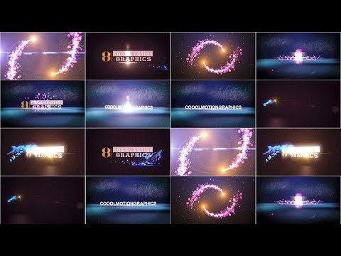 After Effects Templates Ll Beauty Particles Logo Reveal Effect