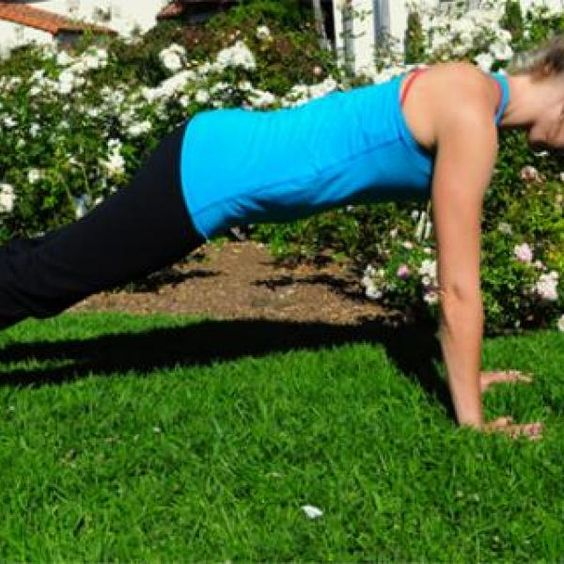 Plank - Abs Workout: The 7 Best Abs Exercises to Get a Flat Stomach - Shape Magazine